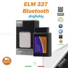 MINI ELM327 OBD2 V1.5 STRUMENTO PER DIAGNOSI AUTO INTERFACCIA BLUETOOTH ANDROID