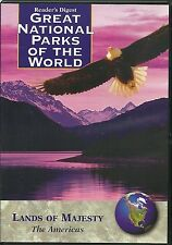 GREAT NATIONAL PARKS OF THE WORLD - 3 DVD SET, AMERICAS, EUROPE TO AFRICA & MORE