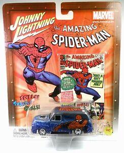 Johnny Lightning 1:64 Marvel Website Exclusive Spider-Man 1955 Ford Delivery
