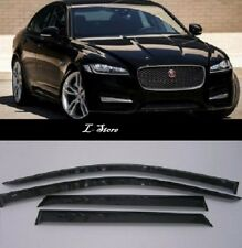For Jaguar XF Sd 2008-2015 Side Window Visors Sun Rain Guard Vent Deflectors