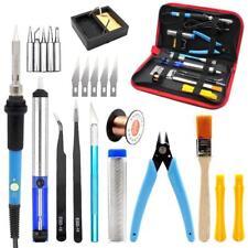 Iron Solder Soldering Wire Kit Tweezers 60w Electric Tool Welding 220v