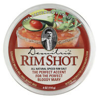 Demitri's Bloody Mary Spiced Rim Salt - Cocktail Glass Rimmer - Bar Drink Tools
