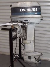 25HP Evinrunde  Outboard Motor SPARK PLUG - Wrecking This Outboard.