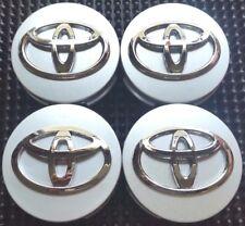 4 pcs, Toyota, 62MM, Silver, #42603-12730, Camry, Corolla, Avalon, Sienna