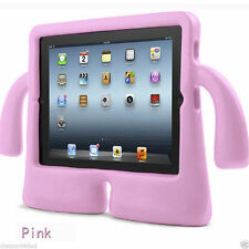 New Light Pink Soft Foam EVA Kids 3D Design Case Grip Cover For Apple iPad 2/3/4