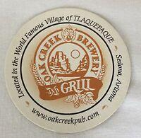 Oak Creek Brewery and Grill Sedona Arizona Coaster Beer Drip Mat