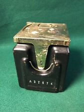"""VINTAGE PAYPHONE TELEPHONE COIN BOX WITH COVER 5"""" x 4"""" x 4 3/8"""""""