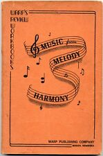 WARP'S REVIEW WORKBOOKS MUSIC FROM MELODY TO HARMONY  PB VG
