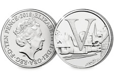 2018 UK Villages EARLY STRIKE 10p [Ref: 683E]