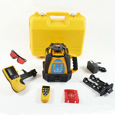 NEW SELF-LEVELING ROTARY/ ROTATING LASER LEVEL 500M RANGE HIGH ACCURACY