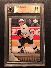 2005-06 Upper Deck #201 Sidney Crosby YOUNG GUNS RC ROOKIE BGS 10 PRISTINE
