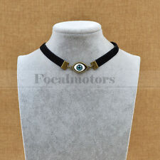 Evil Eye Velvet Choker Punk Necklace Eyeball Ribbon Gothic Pendant Free Shipping