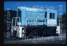 Original Slide U.S. Steel  Homestead Works Narrow Gauge DAV40T 814 In 1989