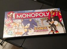 Sonic The Hedgehog Monopoly Factory Sealed Out Of Print