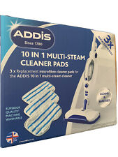 PADDIS 10-in-1 Multi Steam House Household Cleaner Pads Pack Of (2 x 3 Pads) New