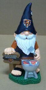 Chicago Bears Garden Gnome Tailgate