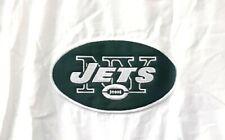 New York Jets Windbreaker Pullover Jacket Med NFL Football Green Size Zipper