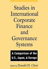 Studies in International Corporate Finance and Governance Systems: A Comparison