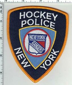 Rangers Hockey Police Novelty Shoulder Patch