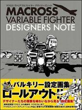 Macross Variable Fighter Designers Note Anime Manga Art Book Japan