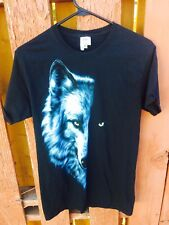 Small Eclipse Wolf Tee