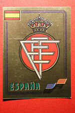 Panini Euro 84 ESPANA BADGE n 211 with back VERY GOOD CONDITION!!