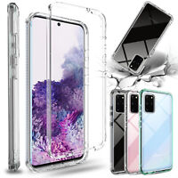 For Samsung Galaxy S20+/S20 Ultra Case Shockproof Clear Hybrid Protective Cover