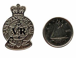 Canada Customs and Revenue Agency pin Police