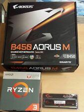 Aufrüstkit AMD Ryzen 3 2200G AM4, Gigabyte MB u. 8 GB DDR4 G.Skill PC3000
