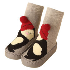 Winter Toddler Non-Slip Boot Socks Kid Baby Cartoon Warm Shoes Anti-slip Slipper