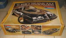 1980 MONOGRAM TURBO TRANS AM 1/8 SCALE MODEL KIT UNBUILT IN THE BOX BANDIT COOL