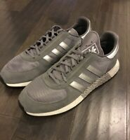 Adidas Marathon Tech Men's shoes New in box size 13.5 G27861 Sneakers Gray