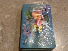 Full deck Playing Cards Fairy Fairies Elf Pixie Flowers Garden Vintage
