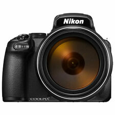 Nikon Coolpix P1000 32024 16MP 125x Wide Angle Digital Camera - Black