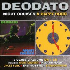 Deodato – Night Cruiser / Happy Hour      new   cd.