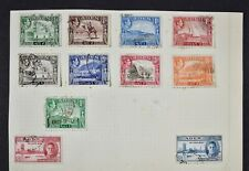ADEN, a collection on 3 album pages, MM & used condition.