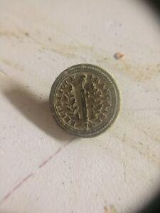 REVOLUTION 1792 bouton militaire  GM 1,7mm cuivre