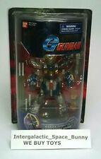 "2003 Bandai 7"" Scarred Burning Gundam G Gundam Mobile Fighter Sealed Box MOSC"