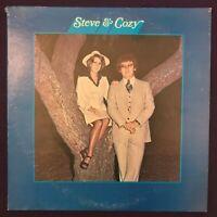 STEVE & COZY s/t LP PRIVATE Xian Gospel Soul Unknown RARE Listen HEAR