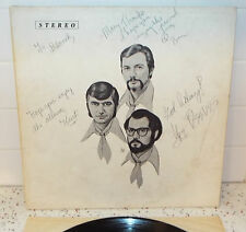The Ben Champion Trio Signed Autographed Gatefold Vinyl LP