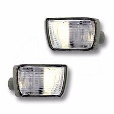 Fits 03-05 Toyota 4Runner Driver Passenger Bumper Turn Signal Light Lamp w/ DRL