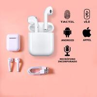 Auriculares Bluetooth 5.0 inalambricos cascos Premium auriculares deportivos i12