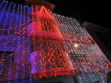 120 Feet- Set of 4 Rice Home Decoration Lighting for Diwali, Marriage - RED
