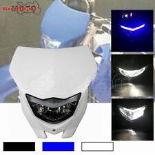 Motorcycle Dirtbike Headlight Fairing For Yamaha WR YZ 125 250 350 400 450 Honda