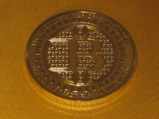 Silk Road Bitcoin BTC Münze Anonymouse Mint Gold plated