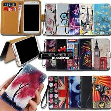 For Wileyfox Spark/Swift SmartPhones Leather Smart Stand Wallet Case Cover