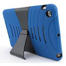 For Apple iPad Mini 2 3 Hybrid Hard Rubberized Kickstand Cover Case