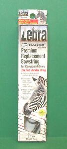"""New Mathews Zebra ZS Twist Replacement Bowstring - Rival Pro 97 1/4"""" Blu & White"""