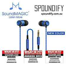 Blue SoundMAGIC E10 for iPhone and Android In Ear Noise Isolating Earphone