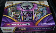 Shiny Darkrai GX Figure Collection Box Pokemon Trading Cards Game Booster Packs